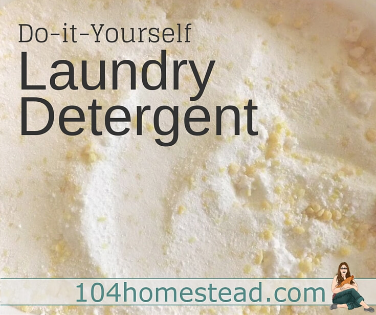 Why spend dollars on commercial laundry detergent when you can make your own for only pennies? Laundry detergent is easy to make and only requires a few ingredients.