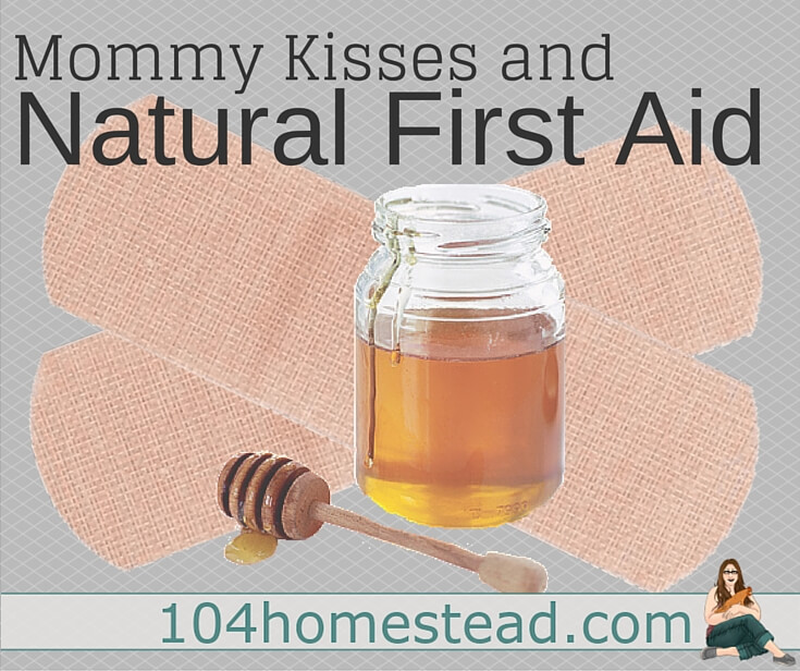 Kids get hurt a lot. Make sure you are equipped for injuries that go beyond the scope of mommy kisses. Check out this Natural First Aid Kit