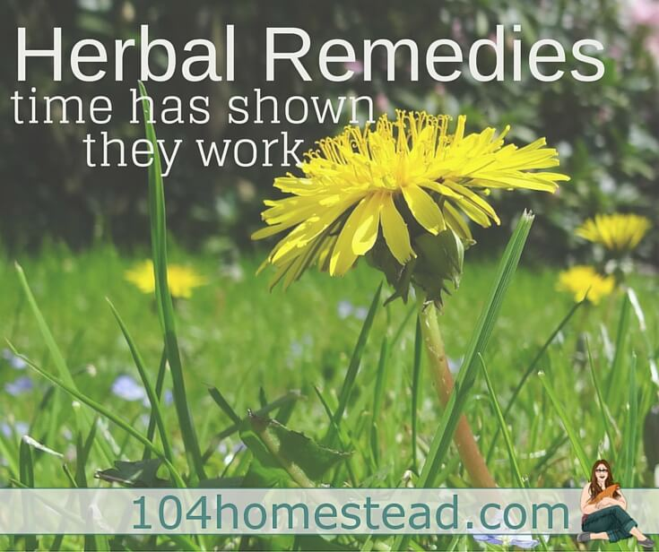 Lots of people have resorted to making their own herbal remedies because the list of side effects for prescription and over the counter medications is overwhelming.