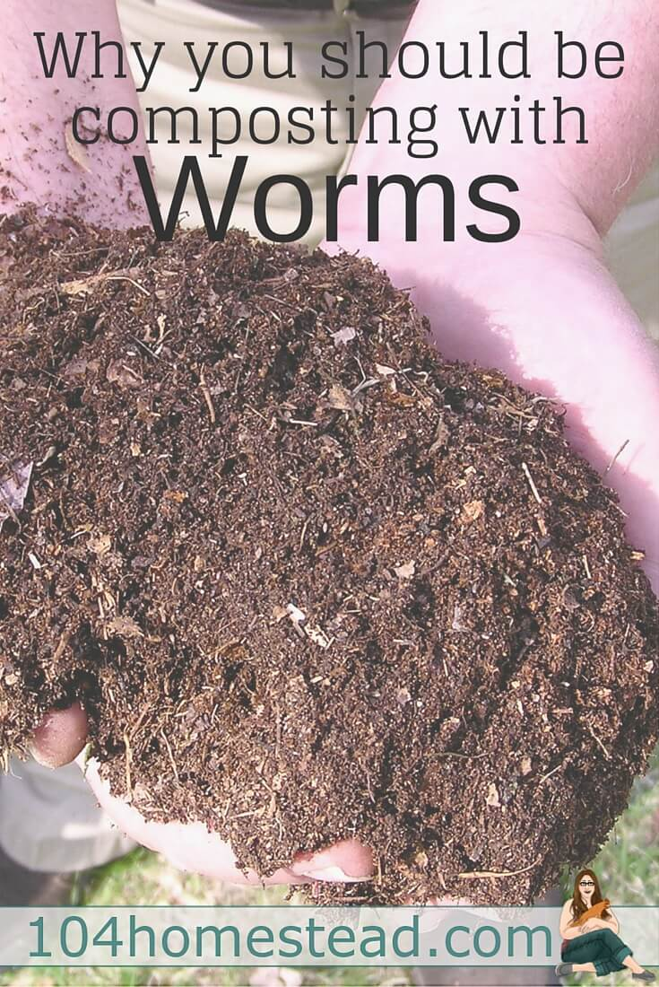 The greatest thing about vermicomposting or composting with worms is that anyone is able to do it, regardless of how much space they have.