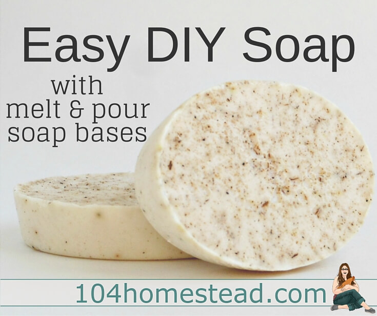 Melt & Pour soap bases are premixed bases that have all the scary work done already. All you do is melt, mix, and pour into molds. You get the joy of homemade soap with the ability to customize it as you see fit.