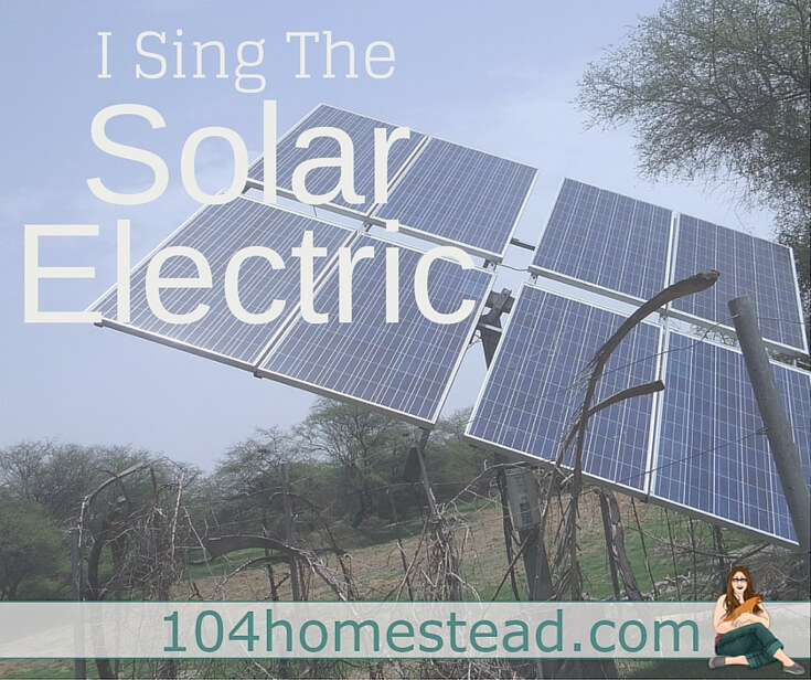 If you have even a single solar panel working on your homestead, you may be as frustrated as I am by the general image of solar presented in the mainstream media.