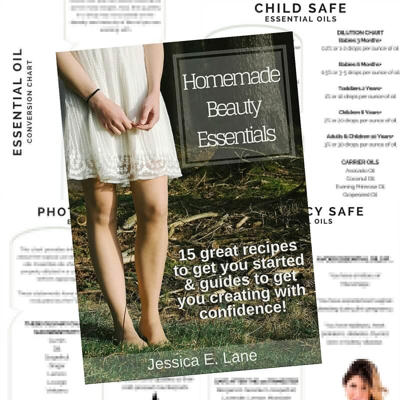Homemade Beauty Essentials comes with printable Pregnancy Safe, Kid-Friendly, Photosentivity, & Oil Conversion Guides