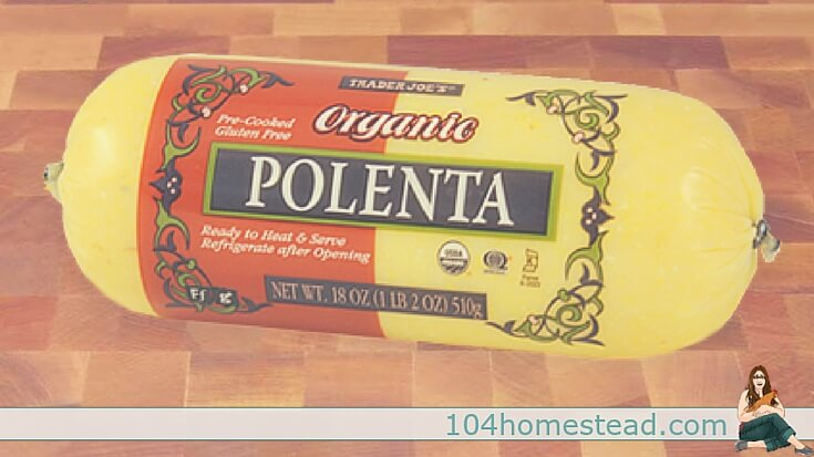 Many people see polenta in the health food store and just keep on walking, but you don't want to miss out on this awesome side dish substitute.