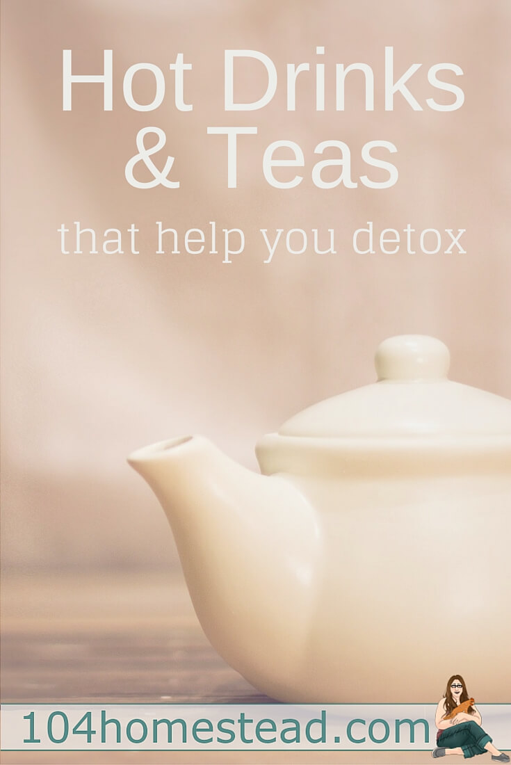 If you're feeling bloated and you're looking for a way to detox your body, these healthy hot drinks and herbal teas may be the solution.