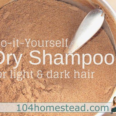 The Best DIY Dry Shampoo for Light or Dark Hair