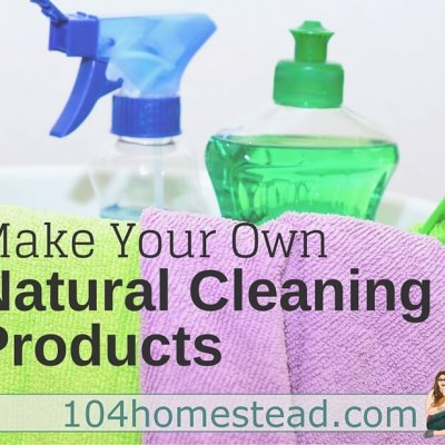 Cleaning Products from Scratch for the Whole House
