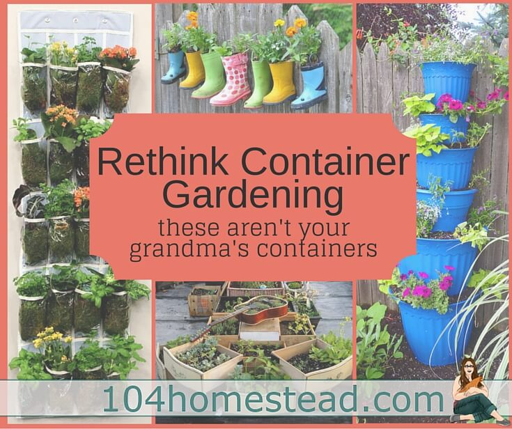 Container Gardening with Fun Planters to Suit Your Style