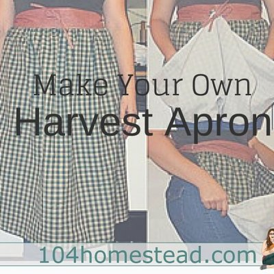 How Easily to Make a Harvest Apron