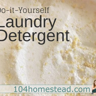 Laundry Detergent Without the Yuck – Made at Home