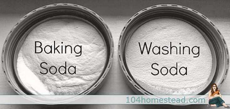 Washing soda is great for DIY cleaners, but it's sometimes hard to find locally. Did you know that you can make your own washing soda using baking soda and an oven?