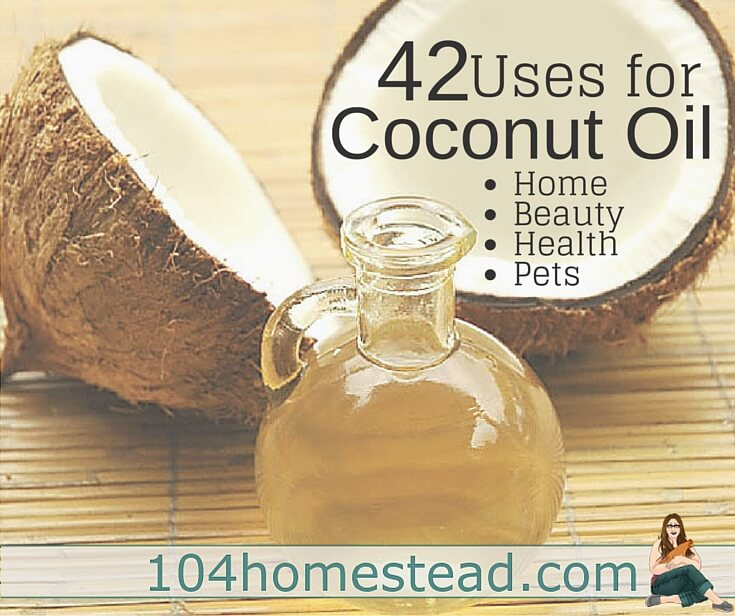 42 Real Life Uses for Coconut Oil