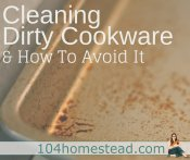 Removing Cooking Spray Residue & Prevent It with Homemade Spray