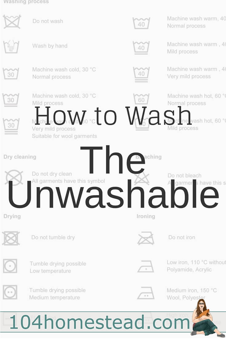Nothing is harder than washing stuffed animals, faux wool slippers and tweed chairs, but I've got a great recipe to help you wash almost all of your unwashables.