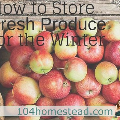 How to Store Fresh Produce for Winter