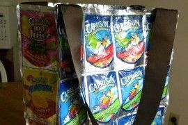 Capri Sun Bag by A Few Shortcuts