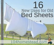 Give New Life to Old Bed Sheets