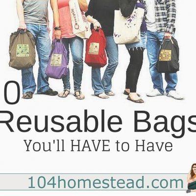 10 Reusable Bags You'll Want to Make Yourself