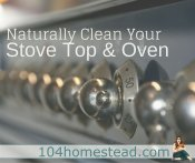 Naturally Clean Your Oven & Stove Top