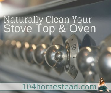 It's the worst-of-the-worst when it comes to cleaning. The baked on goop in your oven and the residue that is stuck to your stove top. Clean it naturally!