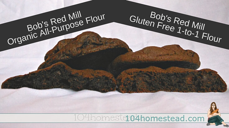 Double chocolate chip cookies are a family favorite in my house, but how will they be with Bob's Red Mill Gluten Free Flour? I put it to the test in this recipe.