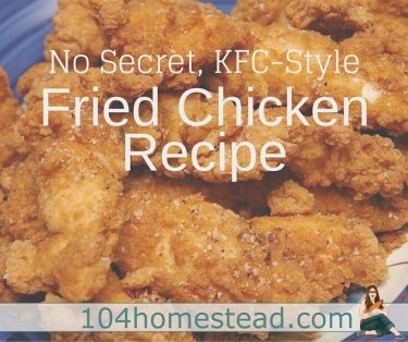 Fried chicken made at home may not be healthy, but it's certainly healthier than you get at the drive thru. Today I'll let you in on my secret for making KFC.