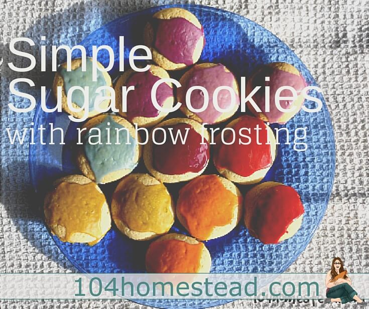These sugar cookies are ridiculously easy to make and nearly impossible to mess up. Plus, the dough can be made ahead of time and frozen for up to six months.