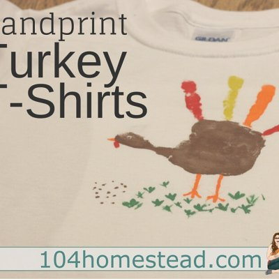 Hand Print Turkey Tee-shirts
