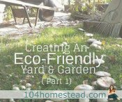 Creating an Eco-Friendly Yard & Garden {Part 1}