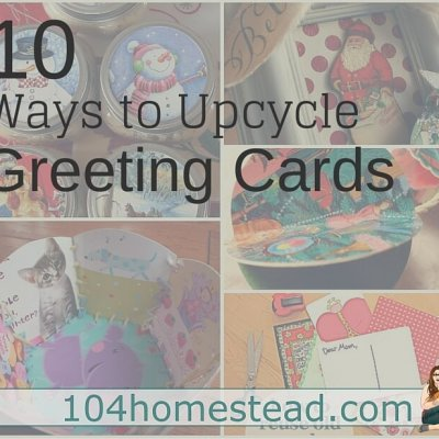 Ways to Upcycle Holiday Cards After the Season