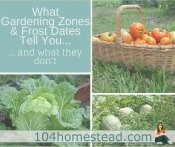 What Gardening Zones & Frost Dates Tell You