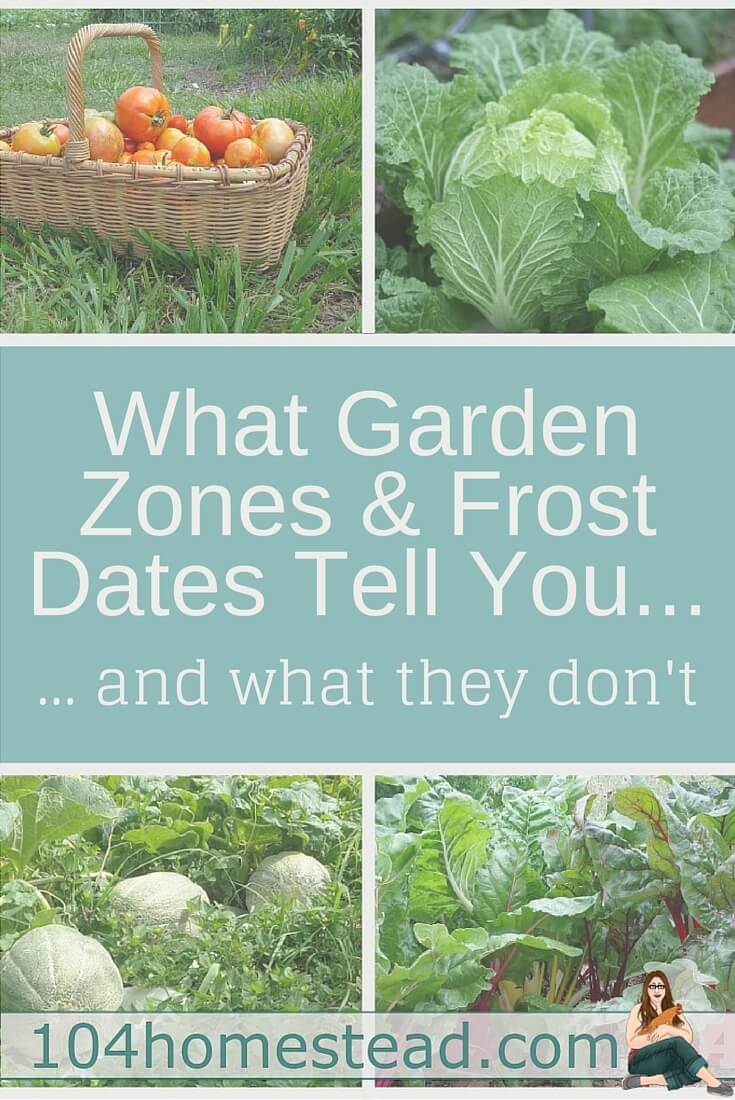 There is often some confusion about what gardening zones and frost dates are. Also, things these tools don't tell you that are important to the gardener.