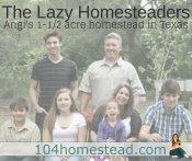 The Lazy Homesteaders: Angi's Story