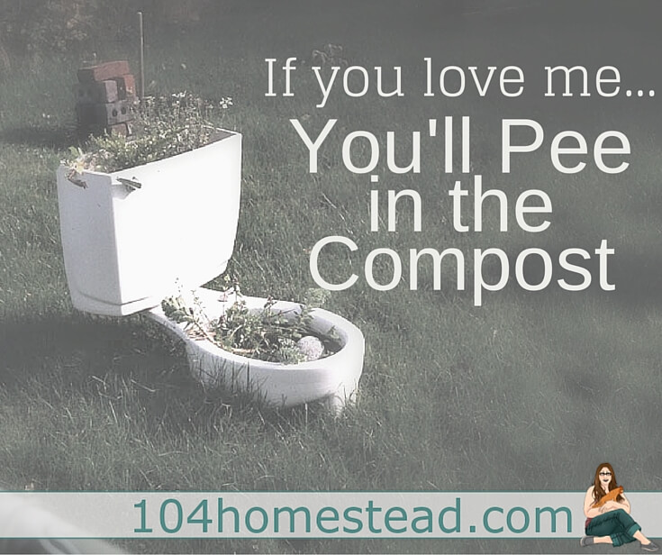 Urine (aka: pee) contains nitrogen, phosphorus and potassium, which are essential in plant health. If you include wood ash in your compost, you've replicated most commercial fertilizers.