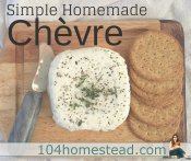Simple Homemade Chèvre