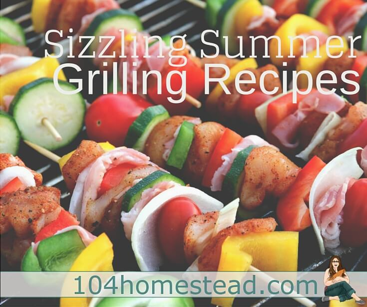 I've discovered there are loads of foods that can be cooked on the grill. Think beyond the dogs and burgers. Here's some grilling recipes to get you started.