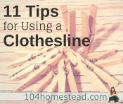How to Use a Clothesline Correctly