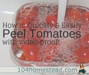 How to Quickly & Easily Peel Tomatoes