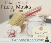 6 Healthy Homemade Facial Masks