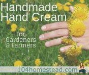 Soothing & Healing Hand Cream for Farmers/Gardeners