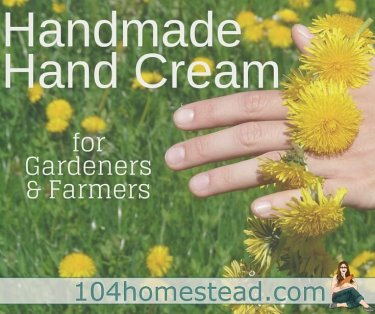 Gardeners and farmers have hard-working hands that need TLC. This homemade hand cream helps moisturize and soothe rough, achy hands.