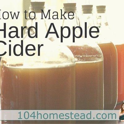 How to Make Hard Apple Cider at Home