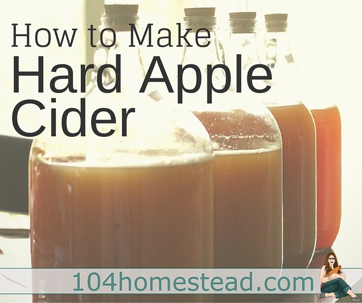Learn to make hard apple cider at home. It's both easy to make and delicious. You can customize your flavors with the apples and sugars that you use.