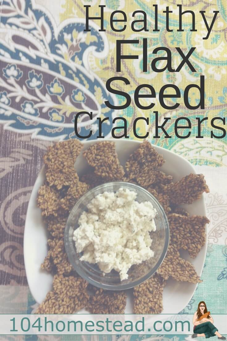 My friend brought by some flax seed crackers for me to try and I was instantly smitten. Based on the seasonings you add, you can tailor to your own likes.