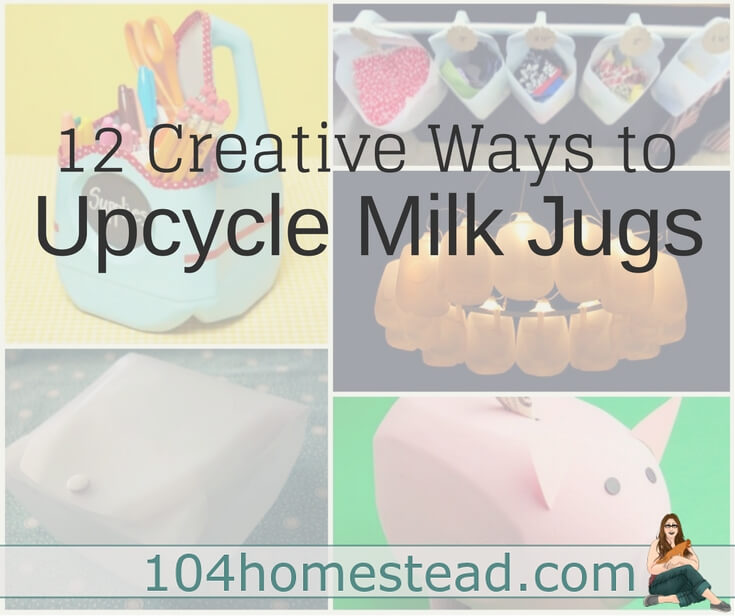 12 Uses for an Old Milk Jug – Don't throw them away!
