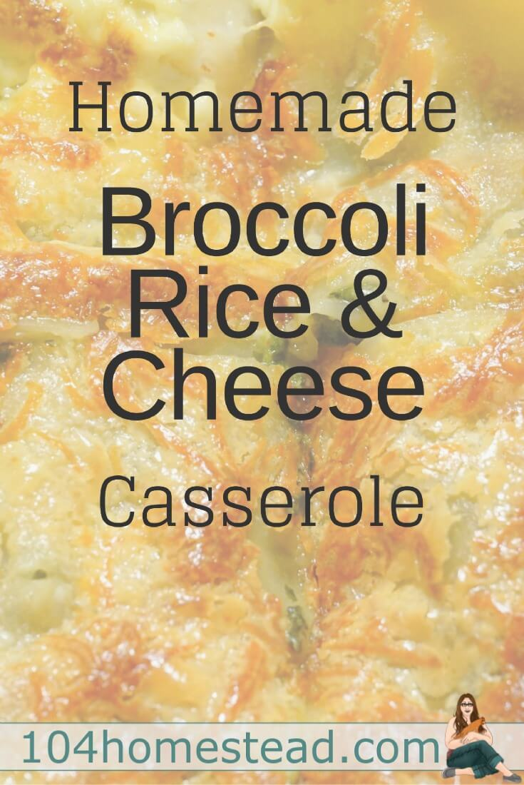 We love this classic and comforting broccoli rice and cheese casserole for easy weeknight meals. Freezer-friendly and reheats well for leftovers.