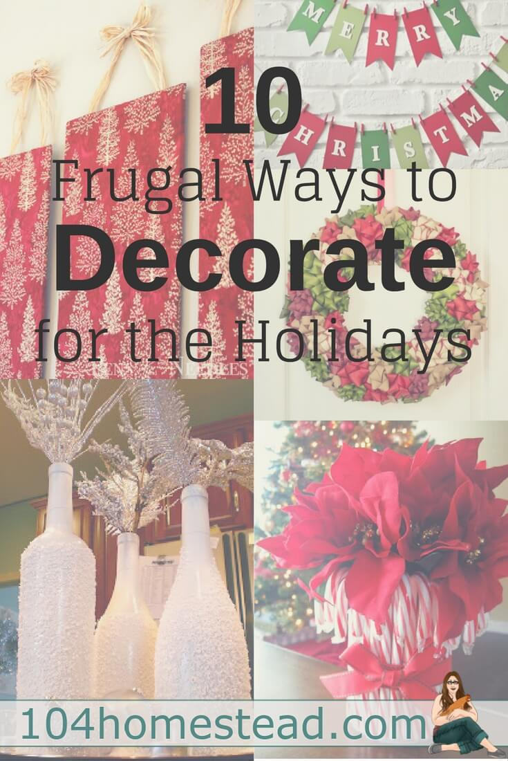 With so many holiday DIYs floating around, decking the halls has never been easier (or cheaper)! Here's a few of my favorite DIY Christmas decor ideas!