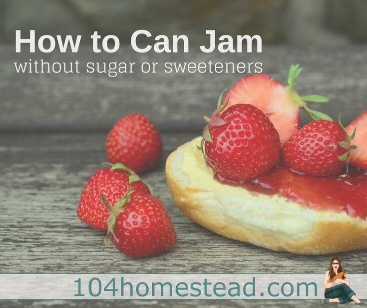 How to Can Jam Without Sugar or Honey