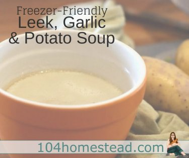This easy potato soup recipe is quick to whip up. It is very filling and very delicious. It freezes well and one batch makes 6-8 portions.