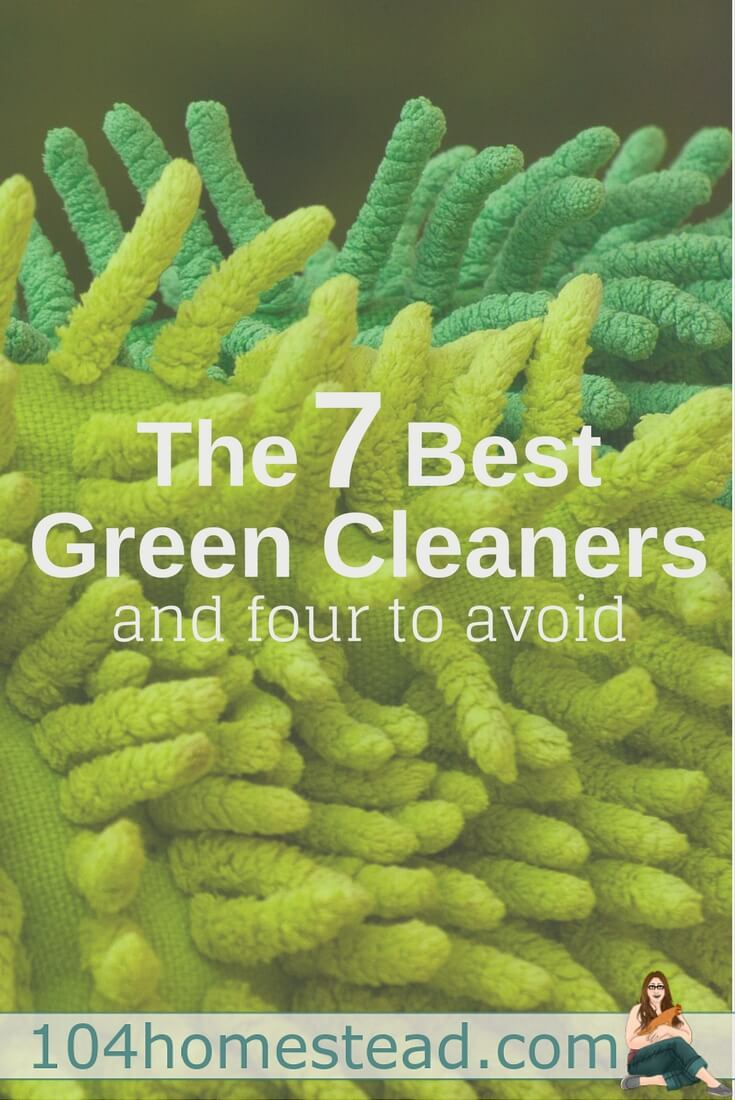 Are all green cleaners created equally? Heck no! There are seven formulas that shine (see what I did there?) and four that fall flat.